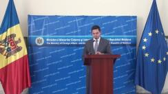 Briefing susținut de Ministrul Afacerilor Externe și Integrării Europene al Republicii Moldova, Tudor Ulianovschi