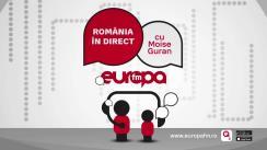 Ediție Specială România în Direct cu Moise Guran, Vlad Petreanu și Cristian Tudor Popescu: Analizăm rezultatele sondajului național IMAS privind un referendum pentru justiție