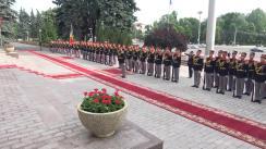 Ceremonia de întâmpinare a prim-ministrului Estoniei, Jüri Ratas, de către prim-ministrul Republicii Moldova, Pavel Filip