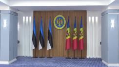 Ședința în format extins a delegațiilor Republicii Moldova și Republicii Estonia