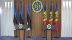Conferință de presă susținută de Prim-ministrul Republicii Moldova, Pavel Filip și Prim-ministrul Republicii Estonia, Jüri Ratas