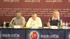 """Conferința de presă susținută de victime ale oligarhilor și sistemului judecătoresc cu tema """"Judecători complici în atac raider"""""""