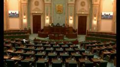 Ședința în plen a Senatului României din 20 iunie 2018
