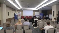 """Conferința organizată de IDIS Viitorul, UNDP Moldova, Fundația Națională a Tinerilor Manageri din România și Agenția de Inspectare și Restaurare a Monumentelor cu tema """"Ecosistemul urban și Instrumentele de dezvoltare inteligentă"""""""