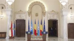 Declarație de presă comună susținută de Președintele României, Klaus Iohannis, și Președintele Adunării Generale a Organizației Națiunilor Unite, Miroslav Lajčák