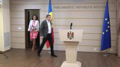 Declarația fracțiunii PL în timpul ședinței Parlamentului Republicii Moldova din 21 iunie 2018