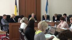 Ședința Curții de Conturi de examinare a Raportului auditului situațiilor financiare ale Serviciului Hidrometeorologic de Stat încheiate la 31 decembrie 2017
