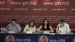 """Conferința de presă cu tema """"Atitudinea Coaliției Civice pentru Alegeri Libere și Corecte față de invalidarea alegerilor primarului mun. Chișinău"""""""