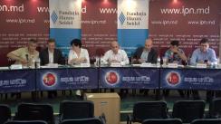 """Dezbateri publice cu tema """"Consecințele (politice, economice, sociale, internaționale) ale discuției privind retragerea armatei străine de pe teritoriul Republicii Moldova la ONU"""""""