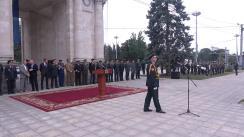 Ceremonia de absolvire a Academiei Militare și primirea gradului de locotenent