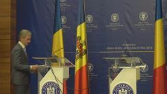 Declarații de presă ale ministrului delegat pentru Afaceri Europene al României, Victor Negrescu, și ale viceprim-ministrului pentru Integrare Europeană al Republicii Moldova, Iurie Leancă