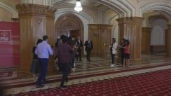 Declarații după ședința grupului PSD, din Camera Deputaților României