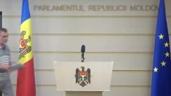 """Conferință de presă susținută de fracțiunea parlamentară a PLDM cu tema """"Drepturile speciale ale alegătorilor din diasporă"""""""