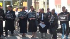 Protestul avocaților împotriva aplicării excesive a arestului