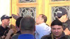 Protest față de nevalidarea alegerilor locale din municipiul Chișinău