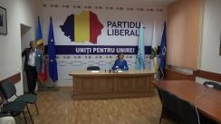 """Conferință de presă cu tema """"Poziția Partidului Liberal față de invalidarea alegerilor locale din Chișinău"""""""
