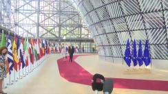 Declarație de presă susținută de Președintele României, Klaus Iohannis, la sosire la Consiliul European