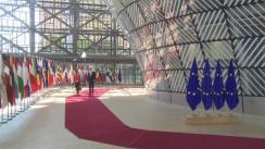 Declarație de presă susținută de Președintele României, Klaus Iohannis, înainte de Reuniunea Consiliului European