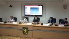 Conferință de presă cu privire la măsurile de asigurare a ordinii publice și securității circulației rutiere în timpul desfășurării protestului care va avea loc duminică, în mun. Chișinău