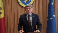 Declarațiile lui Alexandru Jizdan după ședința Guvernului Republicii Moldova din 29 iunie 2018