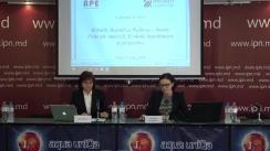 """Conferință de presă organizată de AO """"Asociația pentru Politica Externă"""" cu tema """"Relațiile Republica Moldova- Statele Unite ale Americii: evoluții, impedimente și perspective"""""""