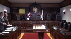 Curtea Constituțională examinează sesizarea privind procedura de intrare în avocatură