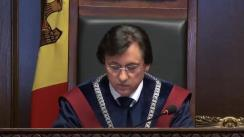 Curtea Constituțională examinează sesizarea privind posibilitatea de prelungire de către procurori a interdicției de părăsire a țării