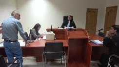 Ședința Curții de Apel Chișinău privind anularea deciziei CEC de nevalidare a alegerilor locale din municipiul Chișinău