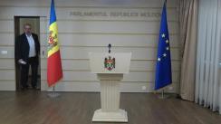 Declarațiile lui Adrian Lebedinschi în timpul ședinței Parlamentului Republicii Moldova din 5 iulie 2018