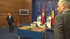 Declarații de presă susținută de Ministrul Afacerilor Externe al României, Teodor Meleșcanu, și viceprim-ministrul și Ministrul Afacerilor Externe al Republicii Socialiste Vietnam, Pham Binh Minh