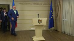 Declarația fracțiunii PSRM în timpul ședinței Parlamentului Republicii Moldova din 12 iulie 2018