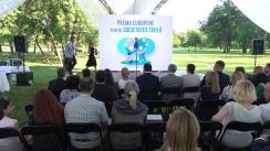 Gala Premiilor Europene pentru Societatea Civilă, organizat de Delegația Uniunii Europene în Republica Moldova