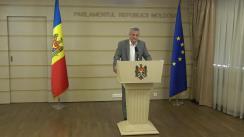 Declarațiile lui Oleg Reidman în timpul ședinței Parlamentului Republicii Moldova din 12 iulie 2018