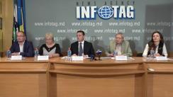 """Conferință de presă organizată de Institutul pentru Democrație cu tema """"Deschiderea la Chișinău, Comrat și Tiraspol a trei Centre de asistență juridică, psihologică și reabilitare a victimelor torturii, cu asistența financiară a Uniunii Europene"""""""