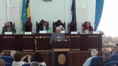 Conferința omagială a marelui poet, prozator, publicist, membru corespondent al Academiei de Științe a Moldovei și membru de onoare al Academiei Române, domnul Nicolae Dabija, care va marca vârsta de 70 de ani