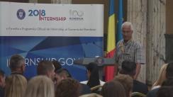 Deschiderea Programului de Internship al Guvernului României