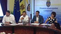Declarații după ședința săptămânală a serviciilor primăriei Chișinău din 16 iulie 2018
