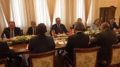 Întrevederea în format lărgit a delegațiilor Republicii Macedoniei și Republicii Moldova