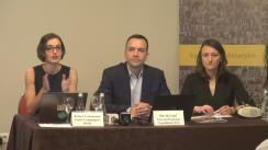 """Conferința de presă organizată de Declic și Agenția americană pentru Investigații de Mediu cu ocazia lansării raportului """"Jaful pădurilor din România"""""""