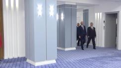 Întâmpinarea Președintelui Republicii Macedonia, Gjorge Ivanov, de către prim-ministrul Republicii Moldova, Pavel Filip