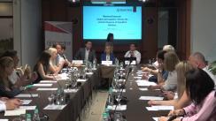 """Masa rotundă organizată de Centrul Analitic Independent Expert-Grup cu tema """"Monitorul financiar: Analiza principalelor reforme din sectorul financiar în perioada octombrie 2017 – iulie 2018"""""""