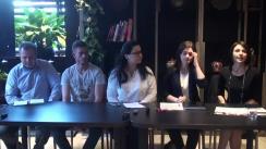 Conferință de presă organizată de compania franceză EDENRED, lider mondial al tichetelor de masă, consacrată extinderii rețelei sale de clienți și comercianți parteneri din Republica Moldova