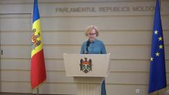 Declarațiile Elenei Bodnarenco în timpul ședinței Parlamentului Republicii Moldova din 19 iulie 2018