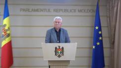 Declarațiile lui Vladimir Voronin în timpul ședinței Parlamentului Republicii Moldova din 20 iulie 2018