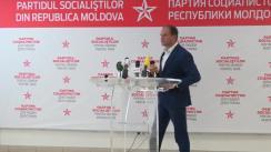 Conferința de presă susținută de liderul fracțiunii PSRM din CMC, Ion Ceban, în legătură cu problema Stadionului Republican și alte terenuri din municipiu