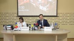 """Conferință de presă organizată de Asociația Promo-LEX cu tema """"Sistemul de justiție penală omoară oamenii"""""""