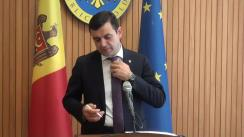 Declarațiile lui Chiril Gaburici după ședința Guvernului Republicii Moldova din 25 iulie 2018