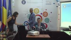 Conferință de presă susținută de Ministrul pentru Mediul de Afaceri, Comerț și Antreprenoriat, Ștefan Radu Oprea, pentru prezentarea bilanțului activității la șase luni de guvernare