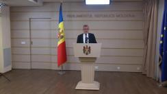 Declarațiile lui Tudor Deliu în timpul ședinței Parlamentului Republicii Moldova din 26 iulie 2018