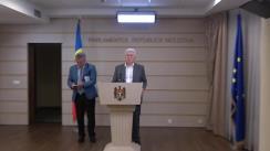 Declarațiile lui Vladimir Voronin în timpul ședinței Parlamentului Republicii Moldova din 26 iulie 2018